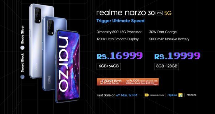 Realme Narzo 30 Pro Review in hindi