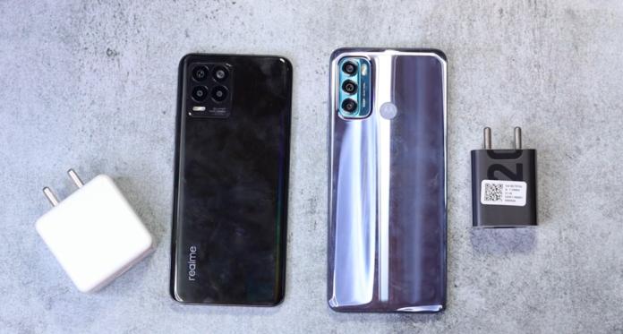 Motorola G40 vs Realme 8 In Hindi