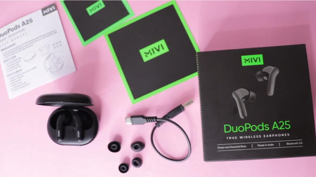 MIVi DuoPods A25 Review in Hindi