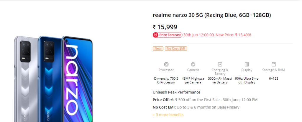 Realme Narzo 30 5G vs Narzo 30 Pro 5G