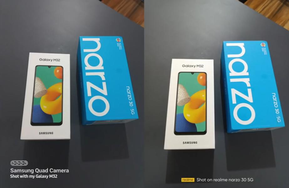 Realme Narzo 30 Vs Samsung Galaxy M32