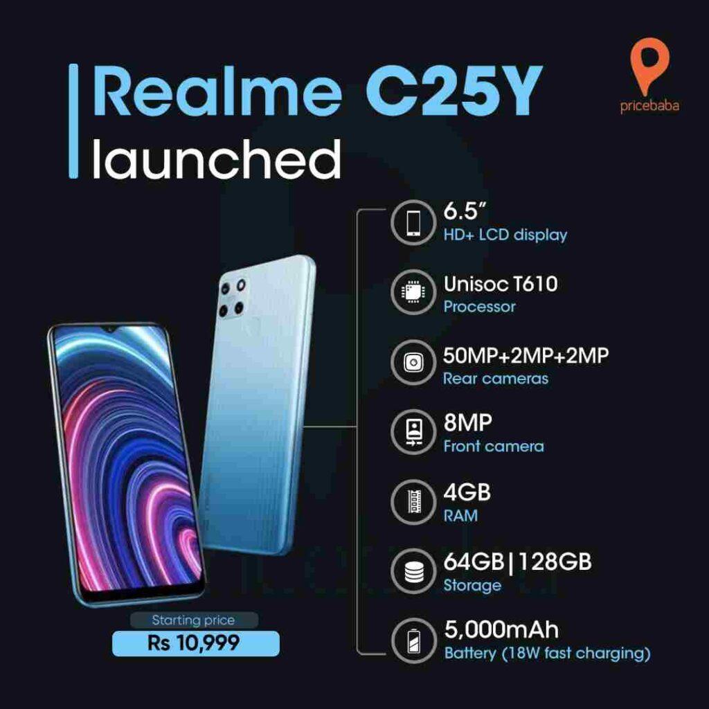 Realme C25Y Review in Hindi