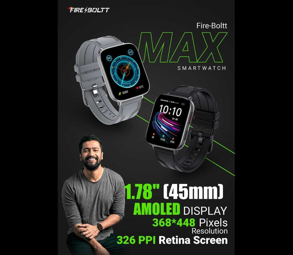 Fire Boltt Max Review in Hindi