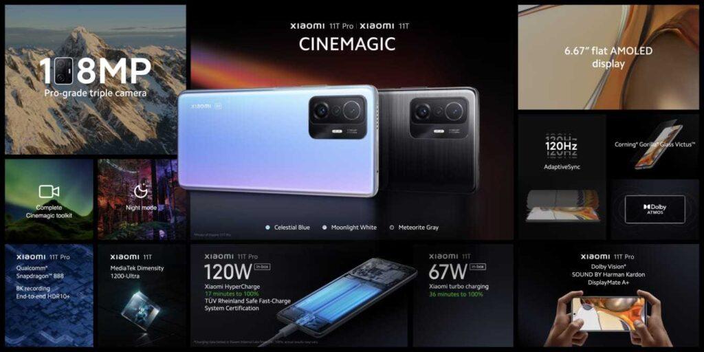 Xiaomi 11T Pro in Hindi